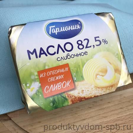 МАСЛО СЛАДКО-СЛИВОЧНОЕ ГАРМОНИЯ 82,5%