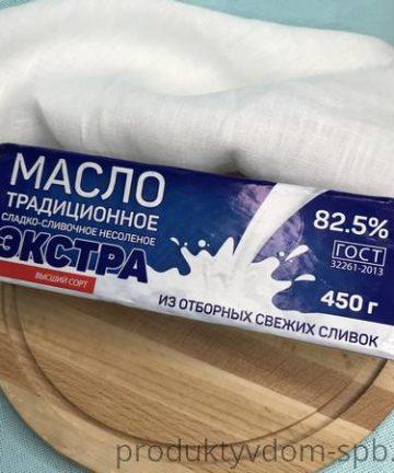 МАСЛО ЭКСТРА Киржачский МЗ СЛАДКО-СЛИВОЧНОЕ КРЕСТЬЯНСКОЕ